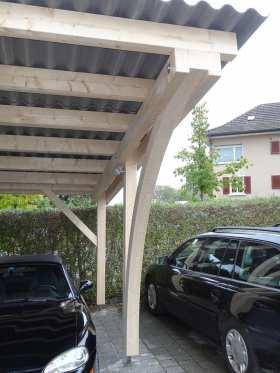 Wintergarten - Autounterstand